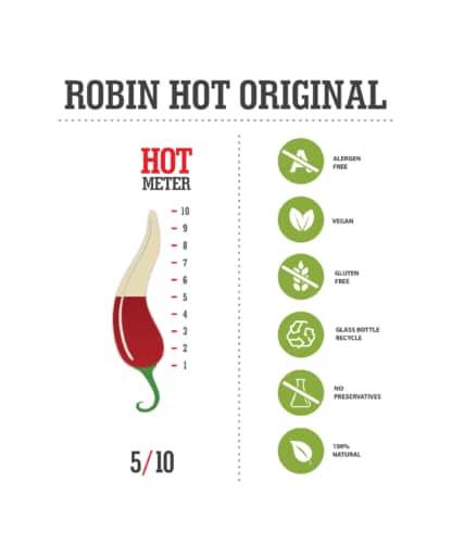 Robin Hot Original Chilisauce Schweiz, Deutschland