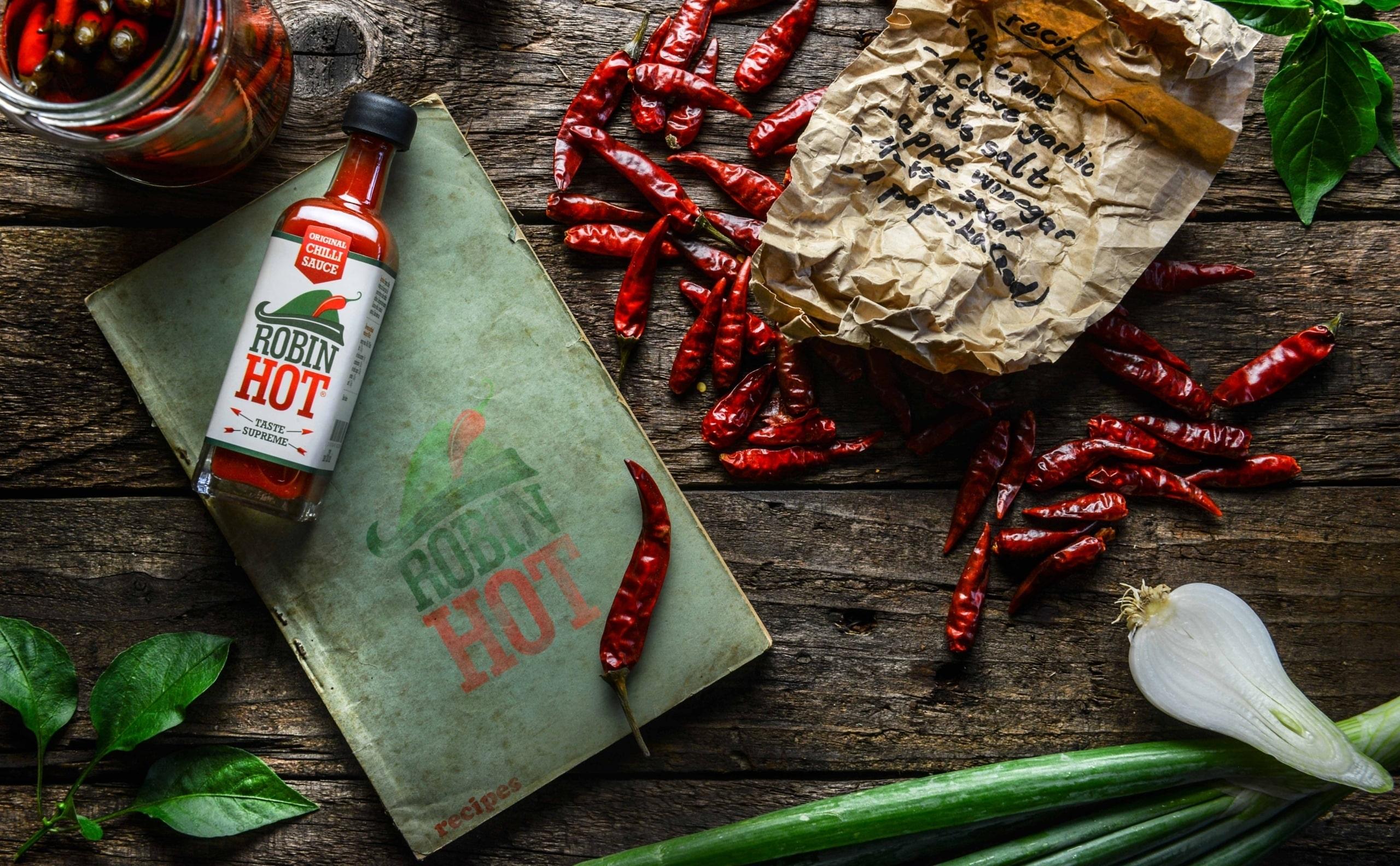Robin Hot die neue scharfe Chilisauce Schweiz