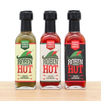 Robin Hot Trio Chili scharfe Sauce