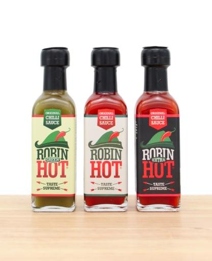 Robin Hot Trio Chili scharfe Sauce