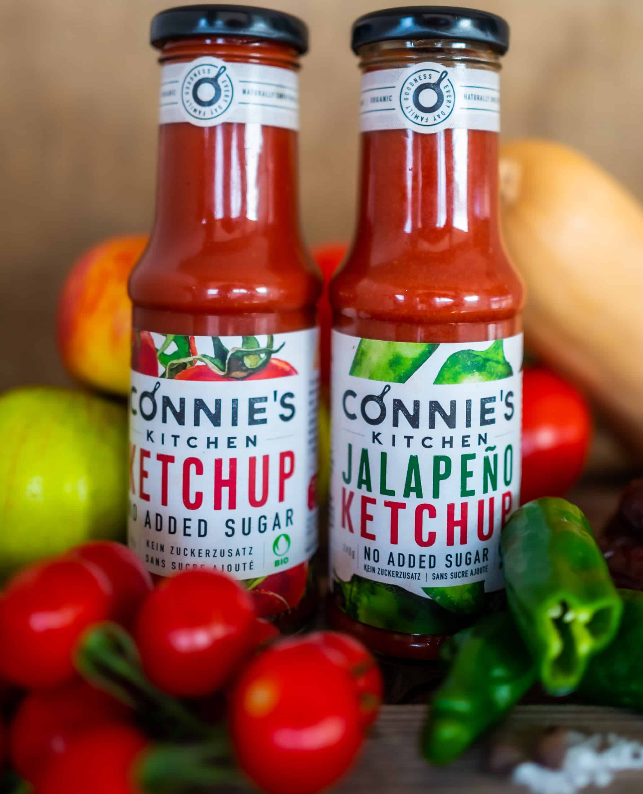 Connie`s Kitchen fabelhafter Bio Ketchup Duo   Sodeli.ch