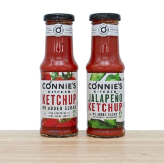 Connies Kitchen Bio Ketchup Duo