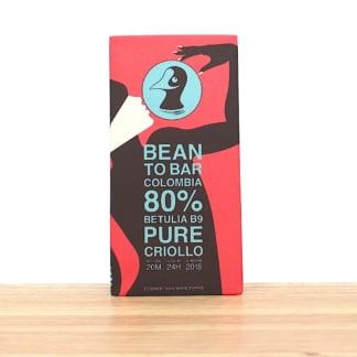 Taucherli Bean to Bar Schokolade Colombia Betulia B9