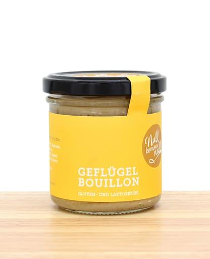 Gesunde Geflügel Bouillon NullkommaNull