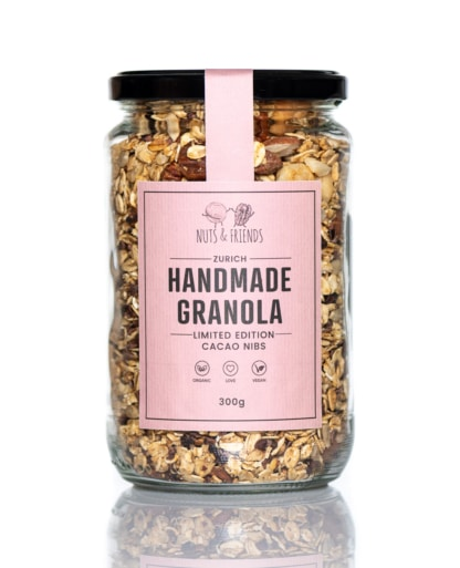 BIO Granola Nuts and Friends Limited Edition NIBS