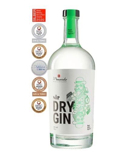 Macardo bester Sir Dry Gin