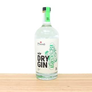 Macardo bester Schweizer Sir Dry Gin