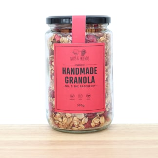 Granola No. 5 The Raspbeery Himbeeren Nuts and freinds