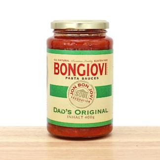 Bongiovi Pasta Sauce Dad's Original Jon Bon Jovi