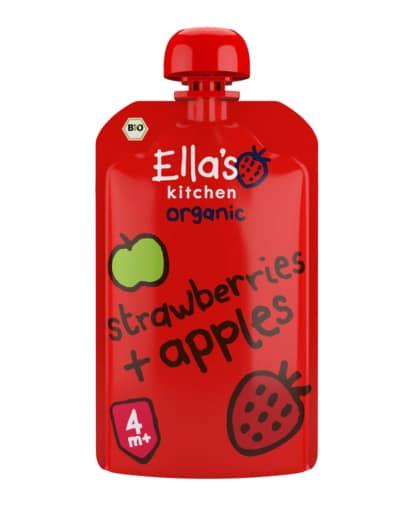 Ella's Kitchen Erdbeeren, Äpfel BIO Schweiz