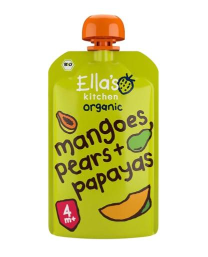Ella's Kitchen Mangos, Birnen, Papayas BIO Switzerland