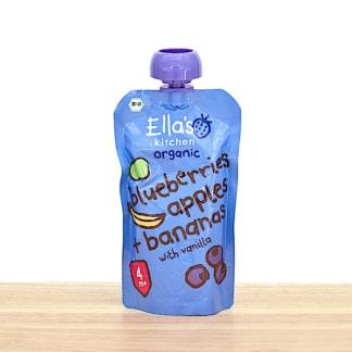 Ellas Kitchen - Heidelbeeren, Äpfel, Bananen, Vanille BIO