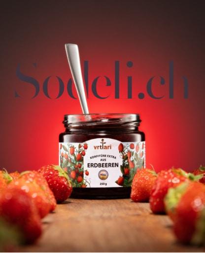 Beste Erdbeeren Konfitüre Vrtlari Sodeli