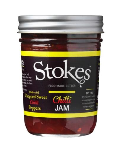 Stokes Chili Jam Süss scharfe Beilage